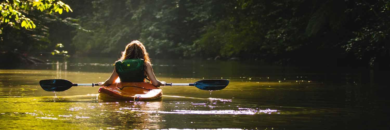 canoé kayak dans les Gorges de l'Aveyron